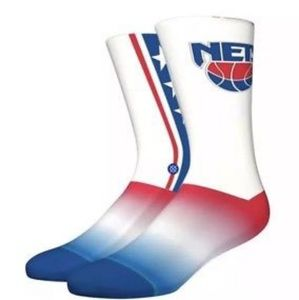STANCE NBA Legends Official New Jersey Nets Socks